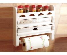 Accesorio de cocina compra barato accesorios de cocina online en livingo - Portarrollos cocina pared ...