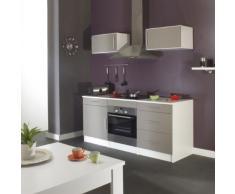 Générique 8050A2191A80 - Módulo de cocina, color blanco/gris