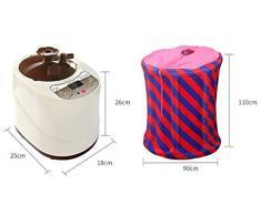 LXsnail caja de vapor / home caja de vapor de desintoxicación sauna / transpiración del sudor caja de vapor de vapor plegable