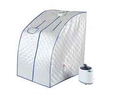 Sauna portátil, 220 V 1000 W tienda de sauna cabina térmica plegable terapéutica vapor Spa silla plegable para casa Spa ducha, 2L