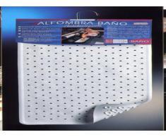 Toyma 110-BLANCO - Alfombra Baño 76X35 Blanco