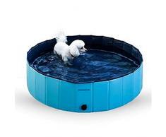 Ponacat bañera para Mascotas Piscina Plegable para Mascotas Estanque de Agua para bañera