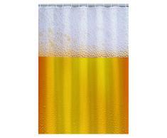 Out of the blue 31/4053 plástico-cortina de ducha, cerveza en bolsa de plástico se incluyen en el envío, aproximadamente 180 x 180 cm