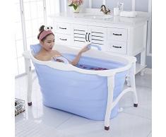Folding bathtub-TOYM Barril Plegable Adulto del Baño del Plástico De La Casa De La Tina