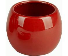 Enjuague Bucal De Sanwood Taza COPPALINO rojo - taza Hecho De Cerámica - Vaso cepillo de dientes apto para Coppa