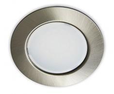 Trango 3erSet TGG4E - foco LED empotrable de techo incluido x 03 x 1 x transformador LED (12 voltios - 2000mAh) para sustituir los G4 de los muebles de cocina o de las luces de campanas de las luces.