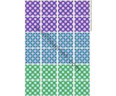 Azulejos de piso azulejos de la bolsita de té 2 - 2 por Sarah Edwards