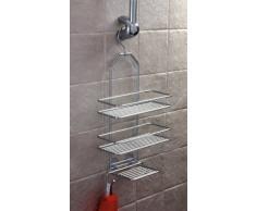 Norwood - Estantería de ducha para colgar (43 x 25 cm)