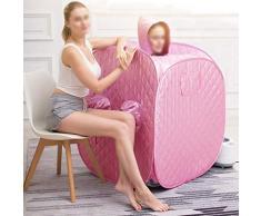 LJHA sangnaxiang Caja de Sauna de Vapor para el hogar, Caja de Vapor de Vapor de Cuerpo Completo Caja de Sauna de Vapor portátil Caja de Sauna de Vapor fumigación Caja de baño de Sauna