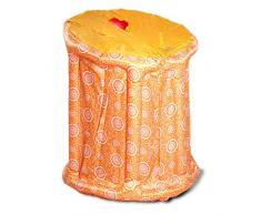 Sauna de Vapor portátil e Inflable Gona - 90 × 85 × 105 cm PVC Calefacción por Infrarrojos Sauna Box 800W, 1-9 Ajuste de la Temperatura del Engranaje Control electrónico