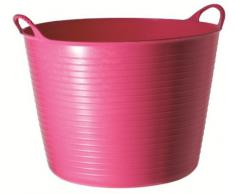 Faulks y Co – Tubtrug Flexible Multiusos bañera grande rosa 38 Ltr