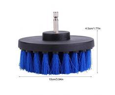 GLOGLOW Cepillo para Taladro, Limpiador para Azulejos Limpiador eléctrico Limpiador eléctrico Bañera Inodoro Taladro Cepillos de Limpieza de Cocina Kit de Accesorios para Cepillo de Taladro(#3)