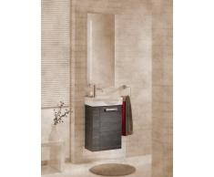 Lavabo mueble para fregadero de Lugano/Como color (front): pino antracita, color (estructura): pino Antracita