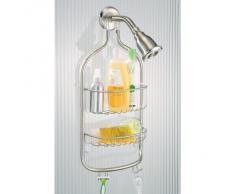 InterDesign - Stella - Organizador para ducha - Acero inoxidable pulido