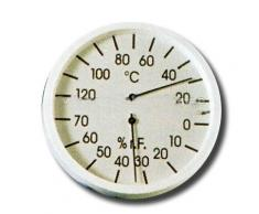 Clima de cuchillo sauna, Vital, infrarrojos, PVC marco