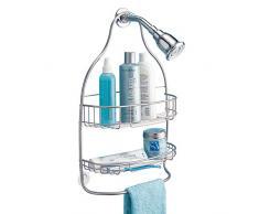 InterDesign Nogu - Organizador ancho para ducha, satinado