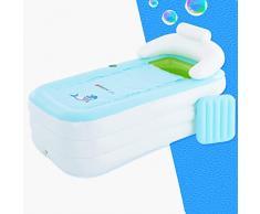 Portátiles bañeras bañera inflable for adultos grandes bañeras adultos Diversión inflable bañera caliente al aire libre de hielo del baño de hidromasaje Home Spa tina de plástico color blanco