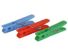 Habitex 283Y24P - Pinzas Ropa Pack 24 Piezas Plastico