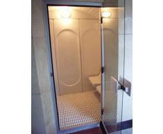 Cabina baño vapor 8d, todo incluido, también generador vapor (2,06 x 1,90 x 2,24 cm)