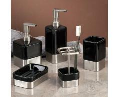 InterDesign - Gia - Dosificador para jabón - Corto, Negro