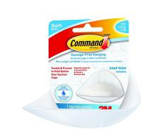 Command - Jabonera baño, gama Blanca