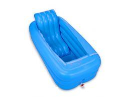 Bañera inflable baño Inflable adultos más gruesa Plegable más gruesa piscinas portatil Baño familiar baño for adultos bañera de plástico caliente sala de vapor uso doble sudor caja sauna baño bañera
