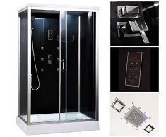 Cabina de ducha Home Deluxe, incluye los accesorios completos, 100x80x220cm