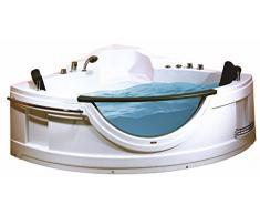 Lujo Diseño Whirlpool Bañera Esquina Bañera de acrílico bañera 150 x 150 cm fabricado en la ue