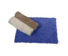 Maurer 4042556 - Alfombra baño algodón octopus 50 x 70 cm, color azul