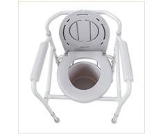 MMM@ Silla Multifuncional sentada/casa Embarazadas ancianas sentadas Silla/Silla de baño/Inodoro/Inodoro Silla de Inodoro Silla