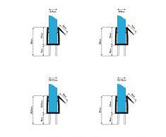 steigner 60 cm Junta de repuesto para 10 mm/11 mm de grosor del cristal de agua anti-lluvia ducha Junta UK20 72648 – Cabina de ducha
