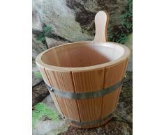 Para Sauna (Madera de alerce 5liter con pieza de plástico