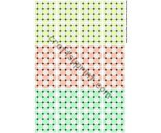 Azulejos de piso azulejos de la bolsita de té 1-4 por Sarah Edwards
