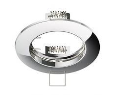 parlat LED spot empotrable en el techo crómico GU10 4,5W 340lm blanca cálida