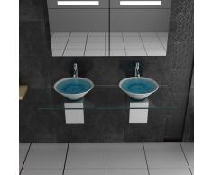 Lavabo de cerámica/de diseño lavabo/muebles de vidrio/alpen Berger/Serie 200/cerámica - cristal lavado infantil/lavabo doble/el lavabo