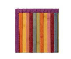 Alfombra de Salón o Comedor, de Rayas, Bambú Natural 60 X 90cm Natur, 60x90 - Hogar y Más