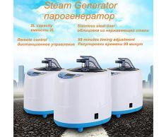 Steam Terapéutico Portátil Sauna De Vapor Airbrush Spray Tan Kit Con Tienda De Campaña 72 84 98Cm 850W (En 9 Niveles),Pink
