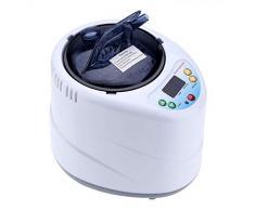 ETE ETMATE Vaporizador profesional para sauna, sauna de vapor portátil, spa para el hogar, accesorios SPA, desintoxicación, pérdida de peso 2 l 1000 W