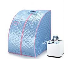 Portátil sauna de vapor Ponerse infrarrojos 1200 W Azul flyelf