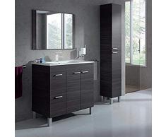 PREMIERE Mueble lavabo 2 puertas + 2 cajones + Espejo + Lavabo de ABS, ENVIOS PENINSULA