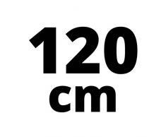 steigner 120 cm Junta de repuesto para 6 mm/7 mm de grosor del cristal de agua anti-lluvia ducha Junta UK20 DPD 72648 – Cabina de ducha