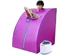 SEESEE.U Sauna, Sauna de Vapor de 2L o Sauna de Vapor Plegable para el hogar, Sauna portátil Adecuada para Perder Peso, Eliminar toxinas, Reducir el estrés y la Fatiga