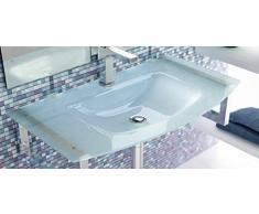 LAVABO SOBRE MUEBLE ART&BATH MOON CRISTAL ARENADO 1010x460 (NO INCLUYE MUEBLE) (NO INCLUYE ESTRUCTURA SOPORTE)