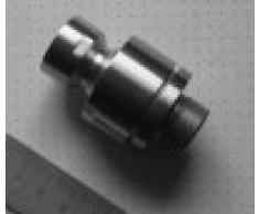 """DeLanwa - Adaptador articulación esférica para alcachofa de ducha (1/2"""", acero inoxidable cepillado)"""