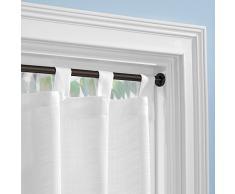 InterDesign Forma - Barra para cortina (48,5-76 cm)