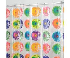InterDesign - Bloom - Cortina para ducha, 180 x 200 cm, Brillante