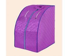 HIZLJJ Carpa Plegable portátil Segura Lejos Sauna de Infrarrojos FIR SPA de pérdida de Peso Que Adelgaza + Iones Negativos Detox Sauna Fumigación Sauna Baño de Vapor Sauna Caja