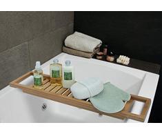 Bandeja bañera bambú 64 x 15 cm