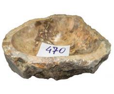 N470 45 x 43 17H cm lavabo de piedra de mármol para baño ovalada de apoyo
