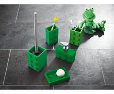 Ridder 22210205 Bob vaso para cepillo de dientes, verde